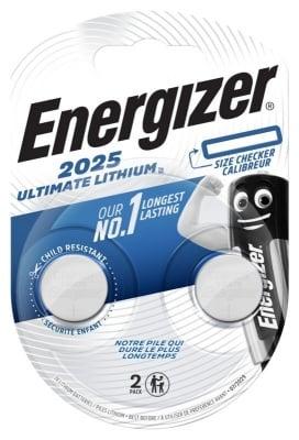 Литиева батерия CR2025 3V Energizer Ultimate