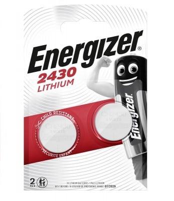 Литиева батерия CR2430 Energizer 3V