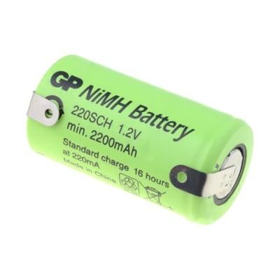 Акумулаторна батерия 1.2V 2200mAh SC с пластини