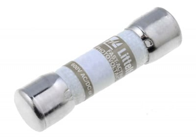 Предпазител керамичен 12A 600V 10,3x38mm