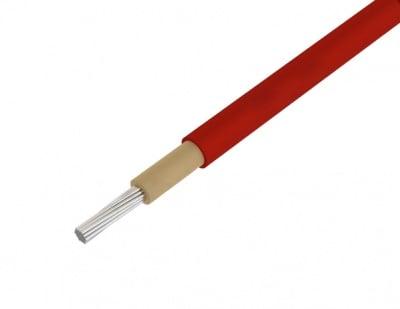 Кабел за соларен панел 4.00мм2, червен меден калайдисан SOLARFLEX