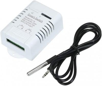 WIFI SMART реле TH-16 със сензор за температура