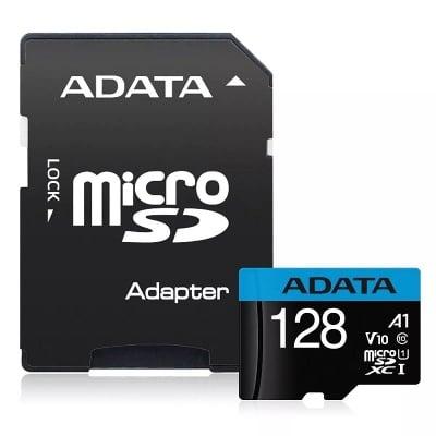 Карта памет Adata Premier micro SD 128GB UHS-I Class10 (A1 V10)