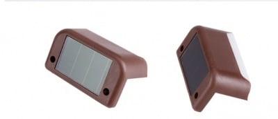 Фотосоларна LED лампа за фасадно или стълбищно осветление