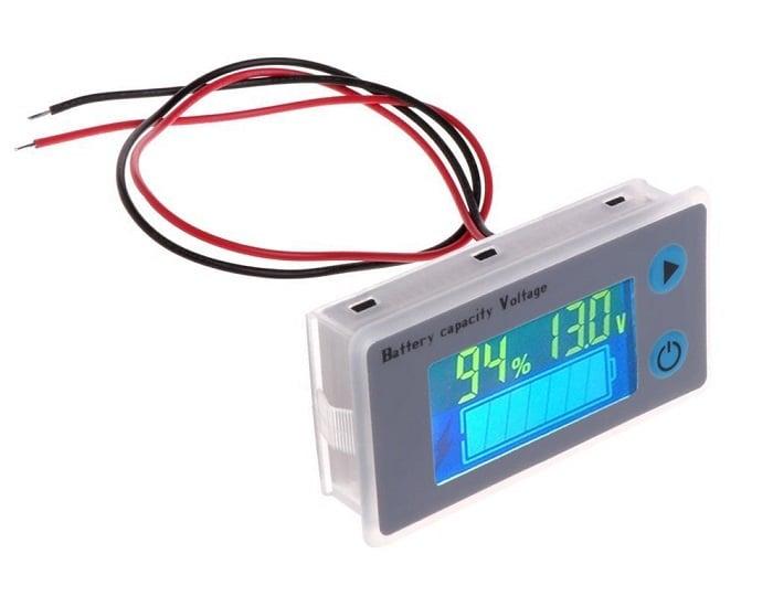 Цифров волтметър индикатор за заряд на акумулатор 10-100V