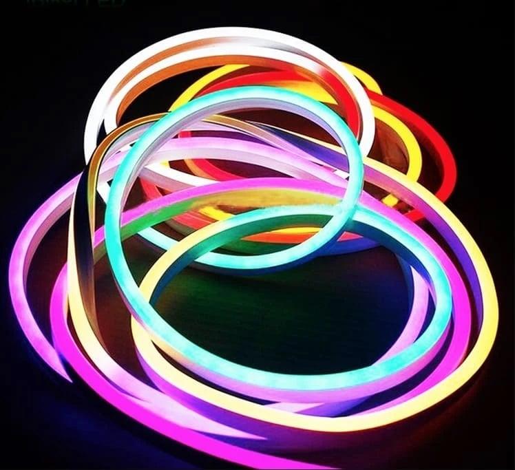Неонов маркуч, цветен RGB 5M