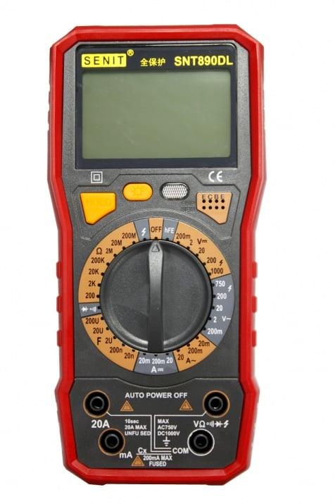 Цифров мултиметър SNT890DL SENIT