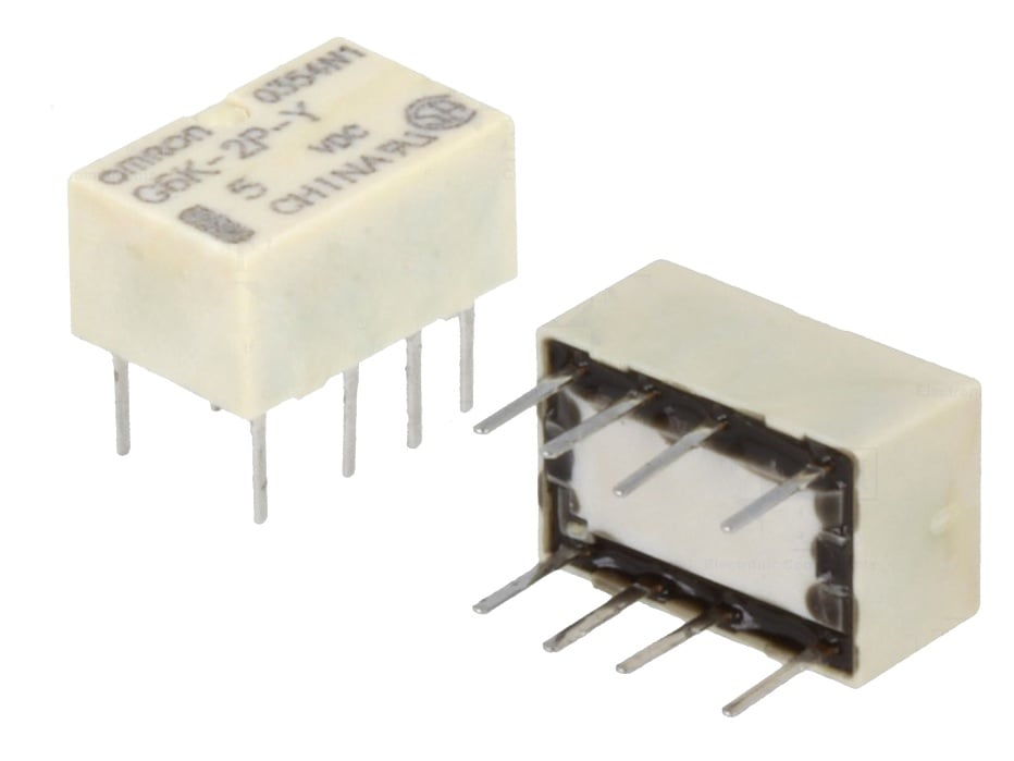 Реле електомагнитно 5V/0.3A