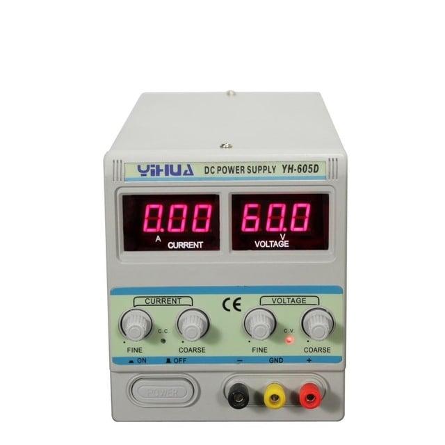 Регулируем токоизправител 60V 5A YIHUA YX-605D