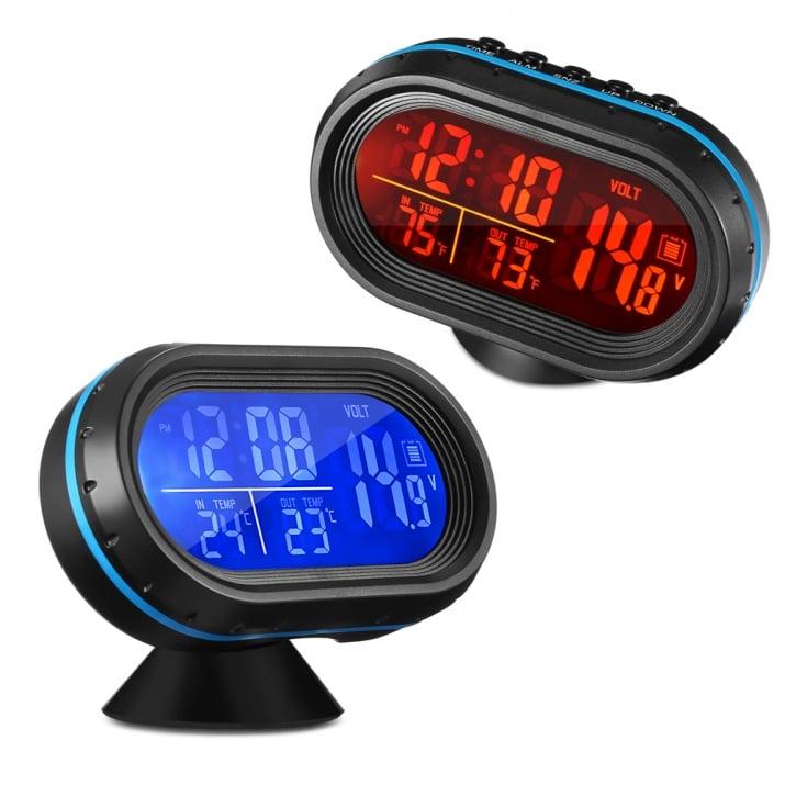 Цифров волтметър, термометър, хигрометър, часовник, аларма VST 7009V