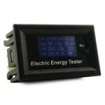 Комбиниран цифров DC волтметър, амперметър, ватметър, термометър.