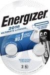 Литиева батерия CR2016 3V Energizer Ultimate