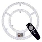 LED магнитна платка 60W 3000+6000K ф30,5 см + дистанционно управление